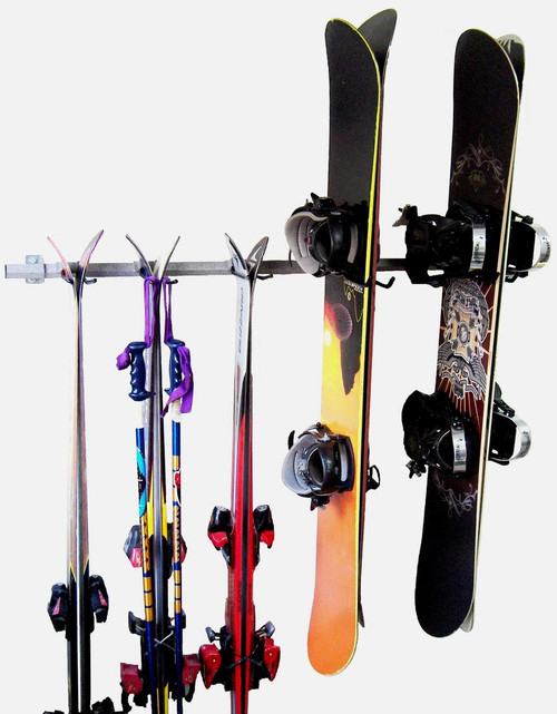 Family Ski and Snowboard Rack