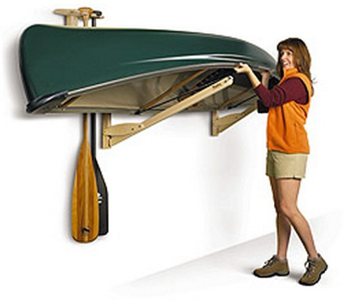 canoe storage rack