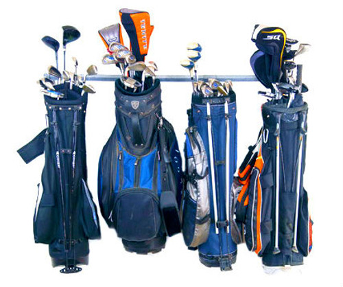 golf bag storage rack 4 bags