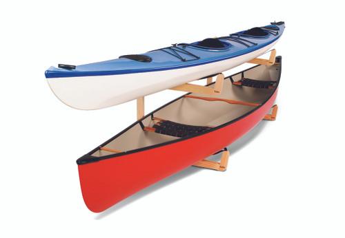 premium canoe floor stand