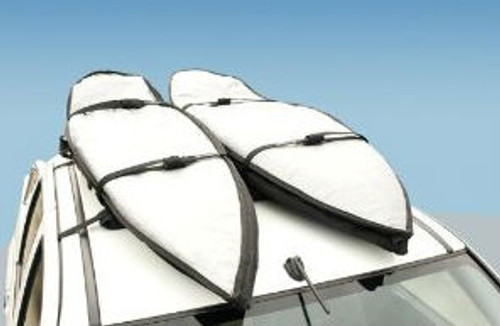 easy to use longboard and shortboard roof rack for SUVs