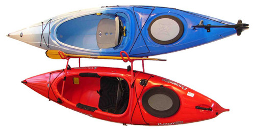 kayak rack holds 2 kayaks