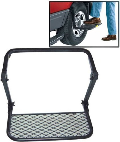 Steel adjustable tire step up