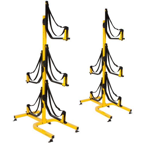 Suspenz 5 boat deluxe freestanding rack