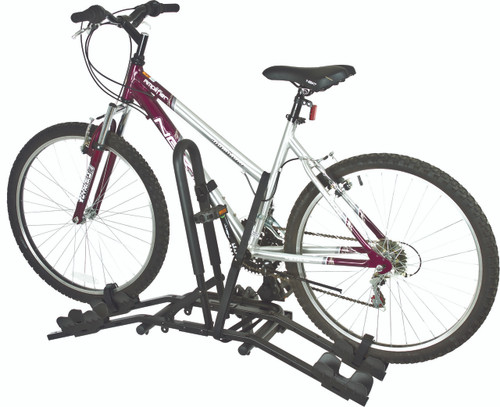 compact 2-bike hitch rack | wheel mount carrier