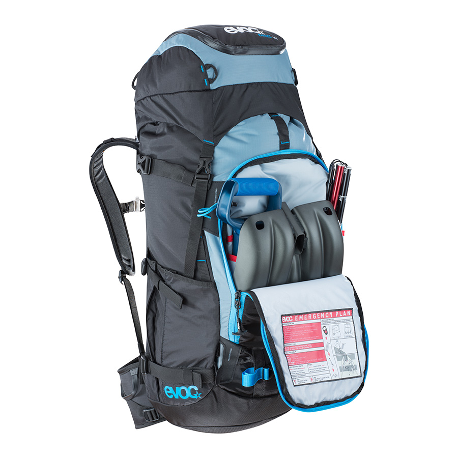 EVOC Backcountry Snowboard Backpack | 40L Patrol Team ...