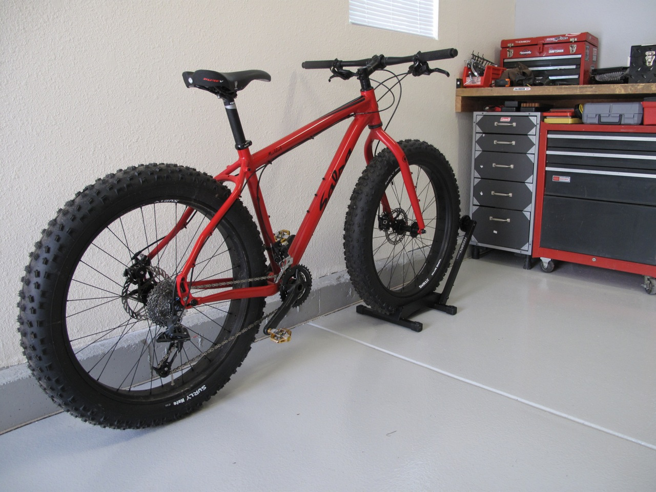 Fat Tire Bike Freestanding Storage And Display Stand