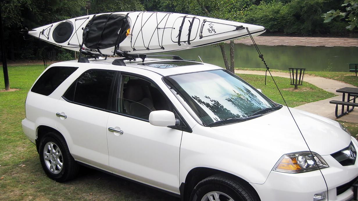 J Style Kayak Roof Rack Suspenz Adjustable 1 Kayak Car
