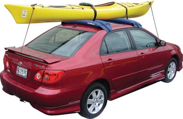 Inflatable Kayak Roof Rack Universal Soft Kayak Rack
