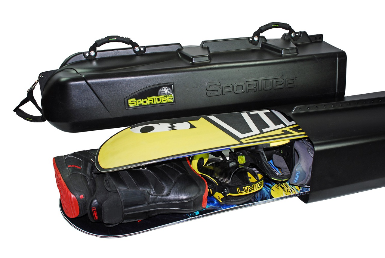 Snowboard Roof Rack >> Ski and Snowboard Travel Bag   Travel Case   Sportube