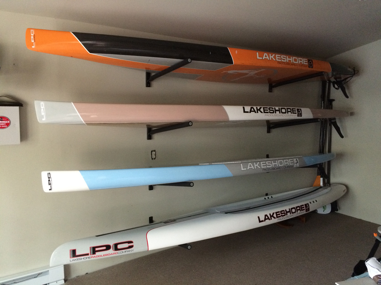 Paddleboard Rack For Home Removable Arms