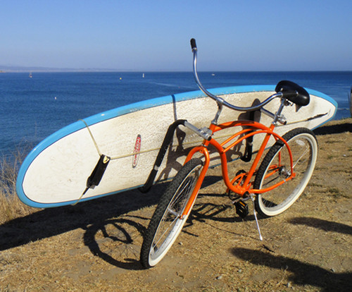 Surf Rack For Car >> Removable Longboard Surfboard Bike Rack - StoreYourBoard.com