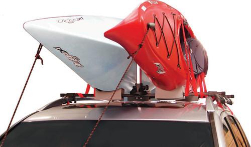Kayak Roof Carrier >> Double Kayak Roof Rack | Holds 2 Kayaks - StoreYourBoard.com