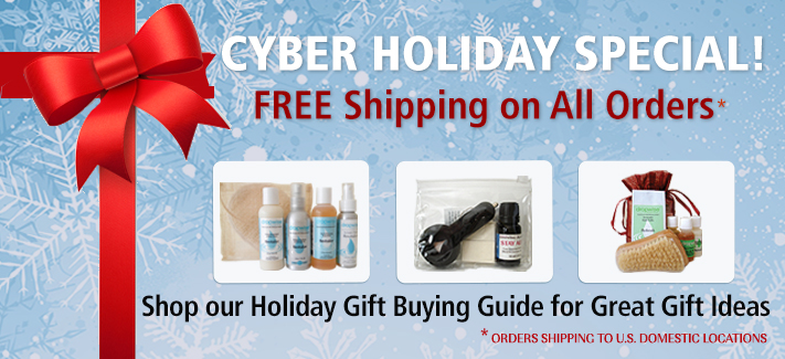 Cyber Holiday Sale: Free Shipping on All Orders in the U.S