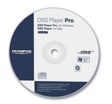 Olympus AS-5002 DSS Player Pro Transcription Software