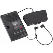 Sony M-2000A  Microcassette Recorder and Transcriber