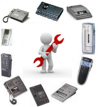 Professional Service for Transcription/Dictation Equipment
