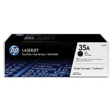 HP 35A Black Dual Pack LaserJet Toner Cartridges