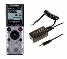 Olympus VN-702PC Digital Audio Recorder Record-It-All Combo