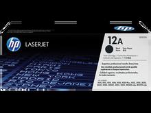 HP LaserJet 12A (Q2612A) Black Toner Print Cartridge