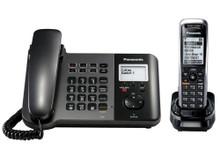 Panasonic KX-TGP550 SIP Corded Handset Base Unit and 1 Cordless Handset