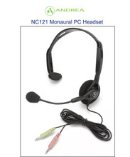 Andrea NC-121 Cost Effective Noise Canceling Monaural Headset