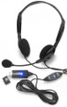 Andrea NC-125M Cost Effective Digital Stereo USB Headset with Volume Control