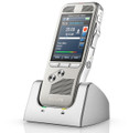 Philips DPM8500 Pocket Memo Digital Voice Recorder With Barcode Reader