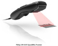 Philips LFH3610 SpeechMike Premium Dictation Microphone With Barcode Scanner