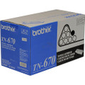 Brother TN670 High Yield Toner Black Cartridge - BROTN670