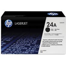 HP 24A (Q2624A) Black LaserJet Toner Cartridge
