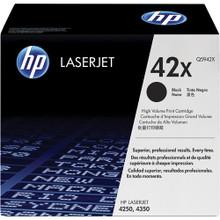 HP LaserJet 42X High Yield Black Toner Cartridge