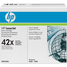HP LaserJet 42X Dual Pack Black Toner Cartridge