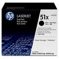 HP LaserJet 51X (Q7551XD) Dual Pack Black Toner Cartridge
