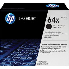 HP LaserJet 64X (CC364X) High Yield Black Toner Cartridge