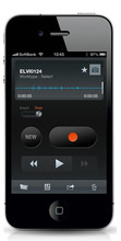 Olympus Dictation App for iPhone and Android OLY-147429
