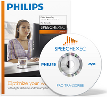 Philips SpeechExec Pro Transcribe 7 Software