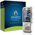 Dragon Medical Practice Edition 2 with Philips DPM8000 Pocket Memo