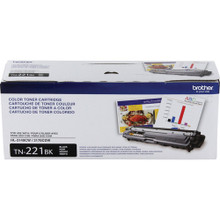 Brother TN221BK Standard Yield Black Toner Cartridge