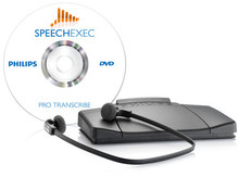 Philips LFH7277 SpeechExec Pro Transcriber With Speech Recognition