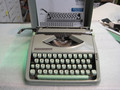 Vintage Hermes Rocket Manual Portable Typewriter