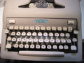 Vintage Royal Heritage Manual Portable Typewriter with Case