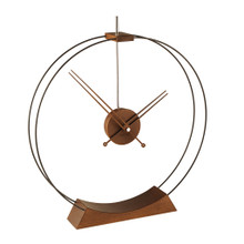 Aire Chrome Clock