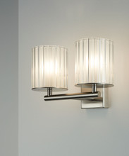 Flute Wall Light Double
