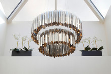 Tiered Facet Chandelier