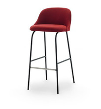 Aleta Stool with Low Back