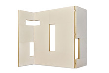 Golden Eye Folding Screen