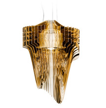 Aria Gold Suspension Lamp