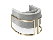 Julius Brass Armchair