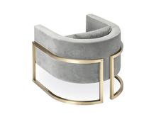 Julius Brass Armchair